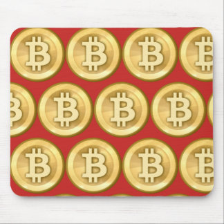 Customize Bitcoins Mouse Pad