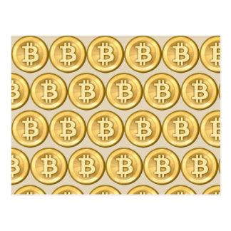 Customize Bitcoins Postcard