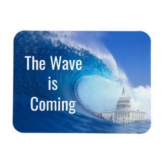 Customize Blue Wave Election 2018 Magnet