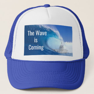 Customize Blue Wave Election 2018 Trucker Hat