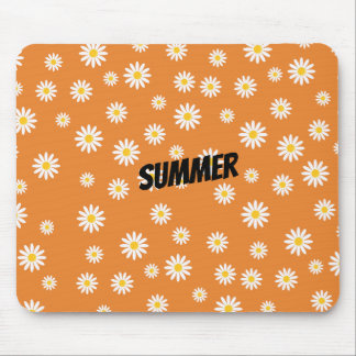 Customize Camomile Flowers Mouse Pad
