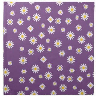 Customize Camomile Flowers Napkin