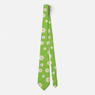 Customize Camomile Flowers Party Tie