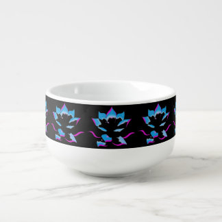 CUSTOMIZE COLOR DELICATE WATER FLOWER SOUP MUG