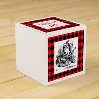 Customize Color Mad Hatter Harlequin Box