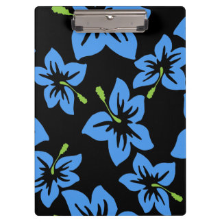 Customize Cool Hawaii Flowers Clipboard