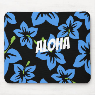 Customize Cool Hawaii Flowers Mouse Pad