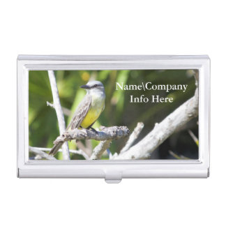 Customize Couch's Kingbird of the Yucatan Case For Business Cards
