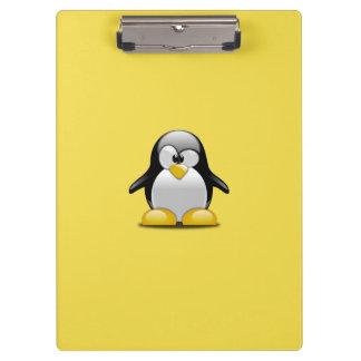 Customize Cute Penguins Clipboard