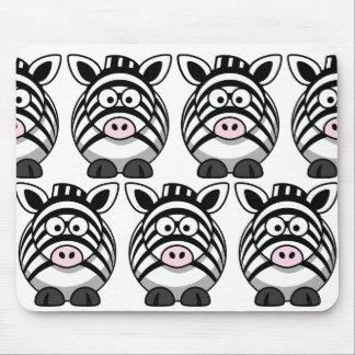 Customize Cute Zebra Mouse Pad