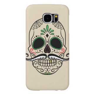 Customize Day of the dead skull Samsung Galaxy S6 Case
