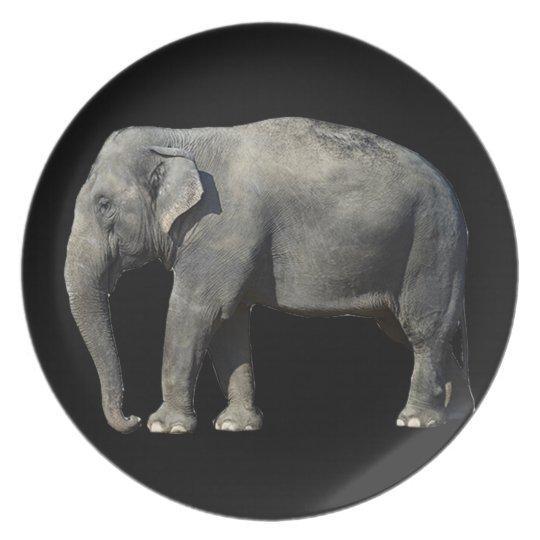 Customize Elephant Plate