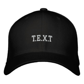 customize embroidered hat