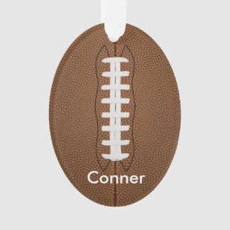 Customize football ornament