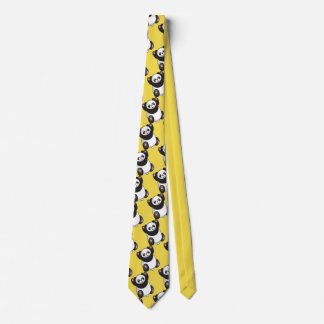 Customize Funny Panda Party Tie