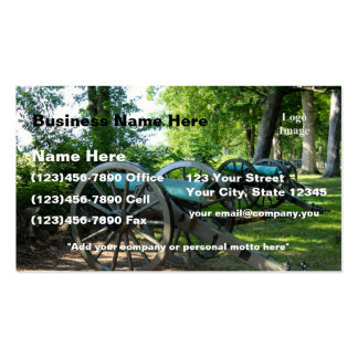 (Customize) Gettysburg National Military Park Business Card