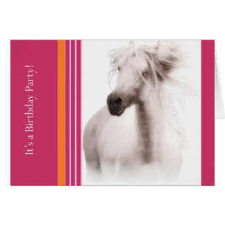Customize Horse Party Invitations and Cards