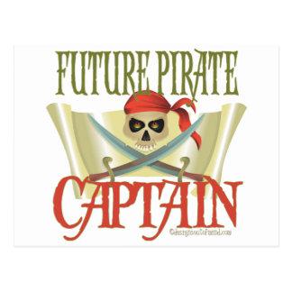 CUSTOMIZE IT! Future Pirate Post Cards