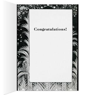 Customize Mazal Tov and Siman Tov  Congratulations Card