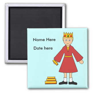 Customize Me -- Children's Nativity King /Wise Man Magnet