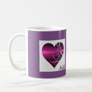 Customize Mug Purple Heart