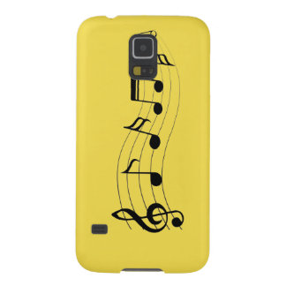 Customize Musical Notes Case For Galaxy S5