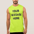 Customize Neon Tank Tops for Men