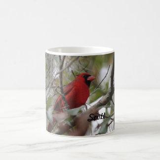 Customize Nice Cardinal photo Coffee Mug