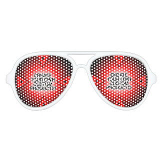 Customize / Personalize / Create your own Party Sunglasses