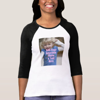 Customize Photo Shirt Gift for mommy and daddy