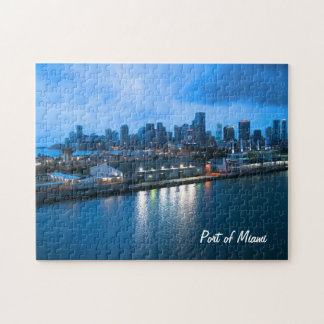 Customize Port of Miami photo Jigsaw Puzzle