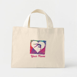 Customize Product Persoanlized Dance Gymnast Bage Mini Tote Bag