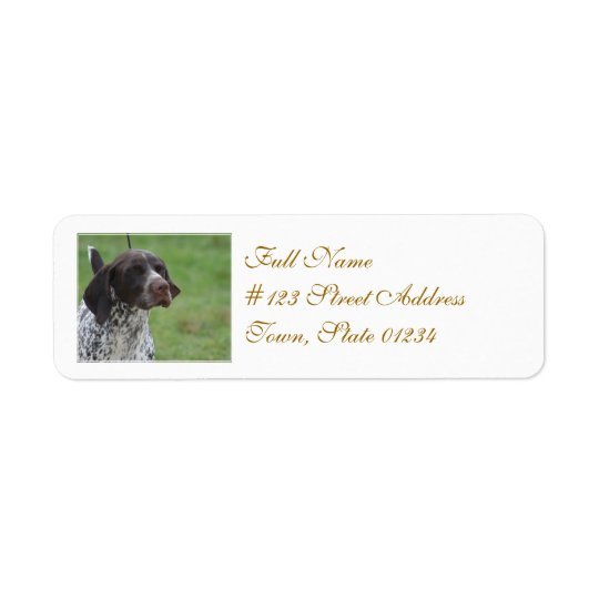 Customize Product Return Address Label