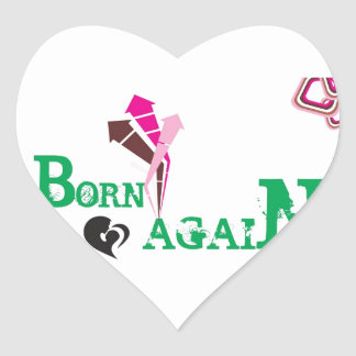 Customize Product Heart Sticker