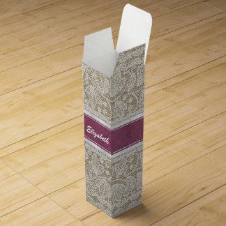 Customize Product Wine Box