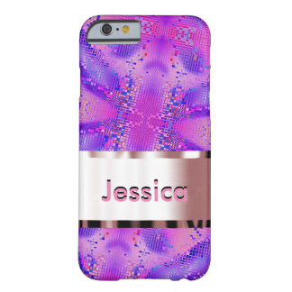 Customize Purple Terrapin Barely There iPhone 6 Case