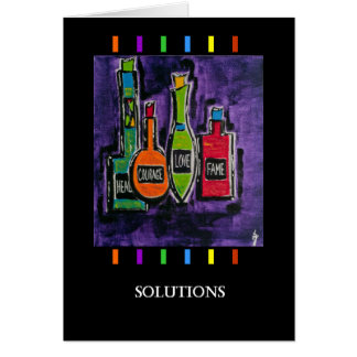 Customize: Solutions PedagogyGreetings Card