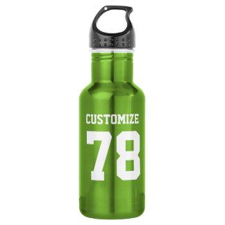 Customize Sports Design Steel Metallic Green 532 Ml Water Bottle