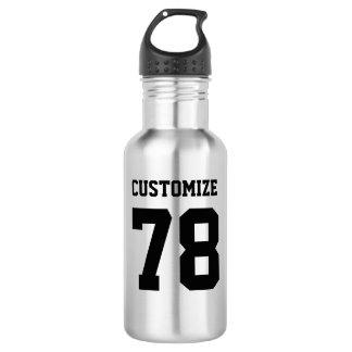 Customize Sports Design Steel Metallic Metal 532 Ml Water Bottle