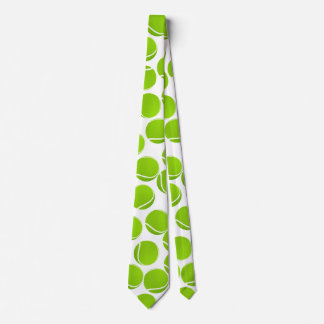 Customize Tennis Balls Party Tie