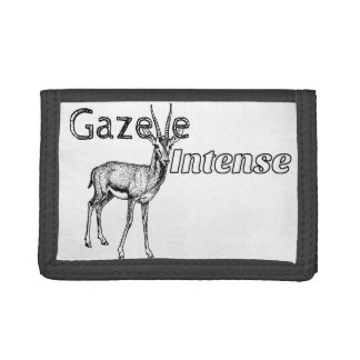 Customize the Colour! Gazelle Intense Motivational Tri-fold Wallet