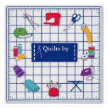Customize the Label Quilt Time Poster