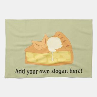 Customize this Apple Pie Slice graphic Kitchen Towel