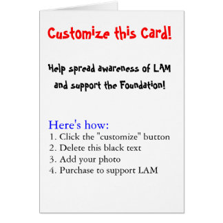 Customize this Card! Card