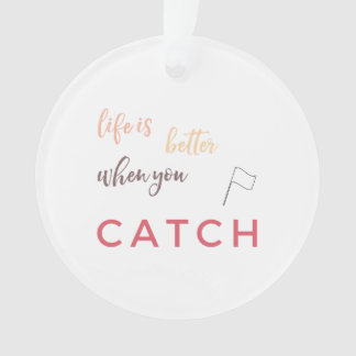 Customize This Cute Color Guard Ornament! Ornament