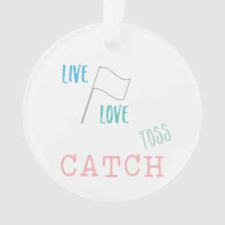 Customize This Cute Color Guard Ornament! Ornament