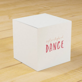 Customize This Forget Your Struggles and Dance Favor Box