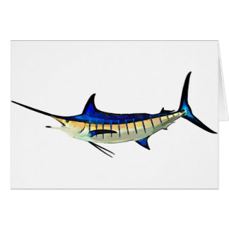 Customize this Marlin with your Boat Name Card