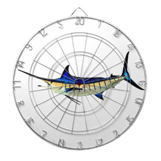 Customize this Marlin with your Boat Name Dartboard