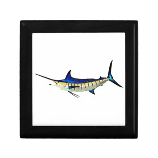 Customize this Marlin with your Boat Name Keepsake Box